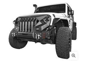 Jeep Wrangler Jk / Jku Front Mad Max Bumper / Grille for Sale in Riverside, CA