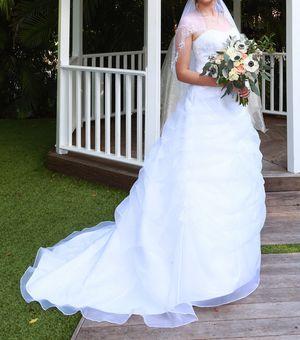 Wedding Dress + accessories - David's Bridal for Sale in Princeton, FL