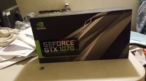 Gtx 1070 founder's edition for Sale in Ontario, CA