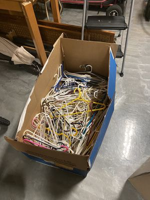 Giant Box of over 200 hangers for Sale in Royal Palm Beach, FL