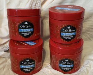 Old Spice Spiffy High Shine Pomade For Men 2.64 oz. Lot of 2 for Sale in Dallas, GA