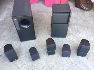 Bose Acoustimass 7 surround speakers for Sale in East Wenatchee, WA