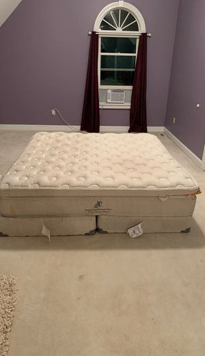 King box spring and mattress FREE for Sale in Sunbury, OH