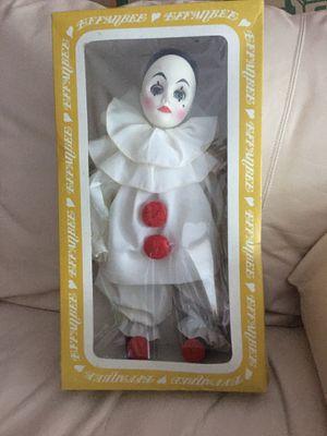 Effanbee Pierrot clown doll #4545 for Sale in Redmond, WA