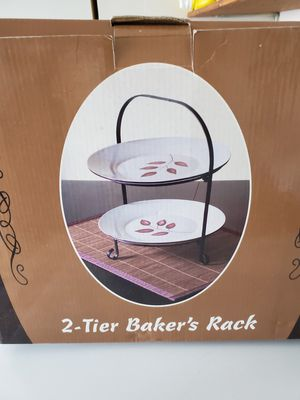 New 2 Tier Bakers Rack for Sale in Banning, CA