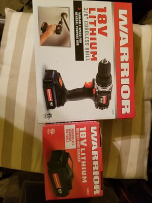 Cordless drill and extra battery for Sale in Columbia, MO