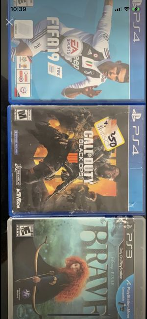 PS4 & ps3 for Sale in San Diego, CA