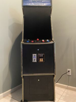 Classic Arcade Games Console for Sale in Fort Lauderdale, FL