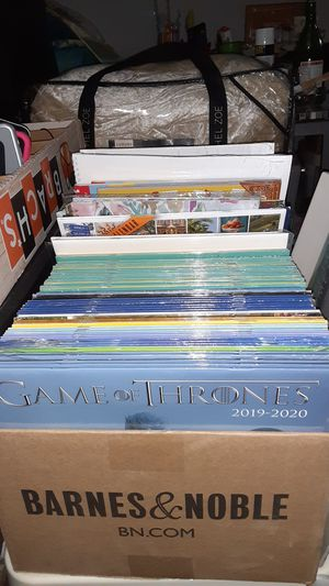 Assorted 2020 calendars and planners buy one for a $1 and get three free for Sale in Hesperia, CA
