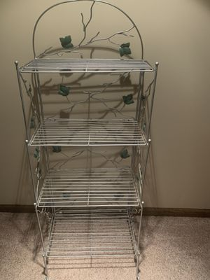 Bakers Rack - easy fold-up for Sale in Bartlett, IL