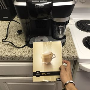 Keurig Rivo R500 LaVazza Espresso Cappuccino Latte Frothing Machine System Great for Sale in Houston, TX