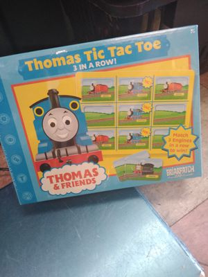 Thomas tic-tac-toe three-in-a-row for Sale in Riverton, NJ