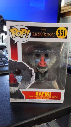 Funko Pop! Disney The Lion n King Rafiki #551 for Sale in Washington, DC