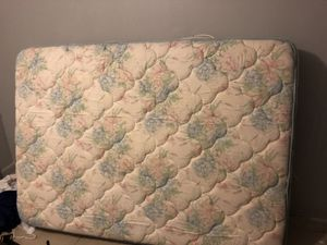 Full size bed and mattress and frame for Sale in Tampa, FL