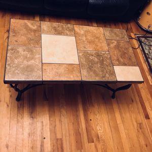 Ceramic Tile Coffee table. for Sale in Denver, CO