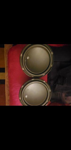 "JL audio 12"" subwoofers W3 for Sale in Visalia, CA"