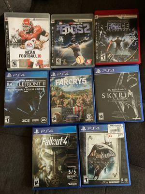 PS4, PS3 games! Some used some new! for Sale in Alexandria, VA