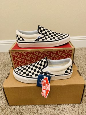 Vans ANAHEIM FACTORY 98 DX Checkerboard Mens 8.5 for Sale in San Ramon, CA
