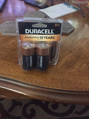 New Duracell d batteries (4) for Sale in Alexandria, VA