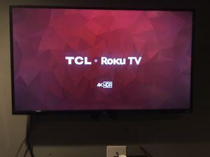 TCL Roku 4K HDR TV for Sale in Philadelphia, PA