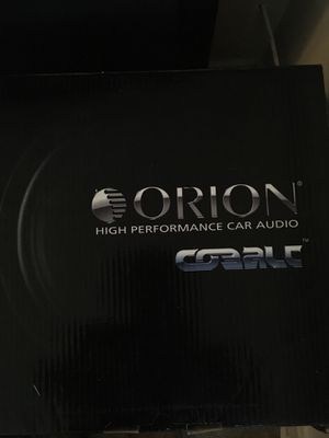Subwoofer car audio for Sale in Columbus, OH