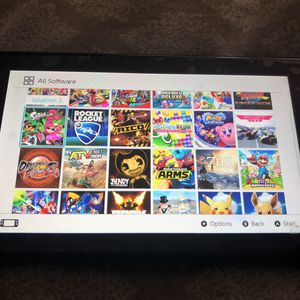 Nintendo switch with 20 plus games for Sale in Los Angeles, CA