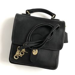 Coach Station Bag in Black (Early 1990's United States Vintage) for Sale in Boston,  MA