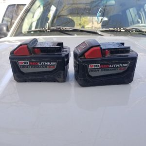 Milwaukee 9.0 battery for Sale in Concord, CA
