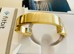Fitbit alta metal bracelet GOLD for Sale in Peoria, AZ