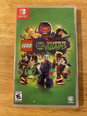 Lego Nintendo Switch Game: DC Super Villains [USED] for Sale in San Bernardino, CA