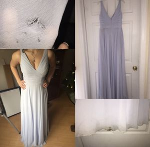 75% OFF SALE Watters&Watters Baby Blue Prom/Bridesmaid Dress Size 4 for Sale in Cliffwood, NJ