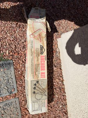Ancho kit for outdoor shed for Sale in Henderson, NV