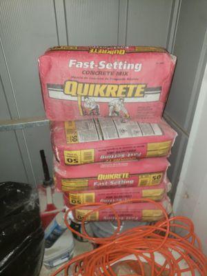 Cemento seca rapid 5 sacks de 50 libras for Sale in Fresno, CA