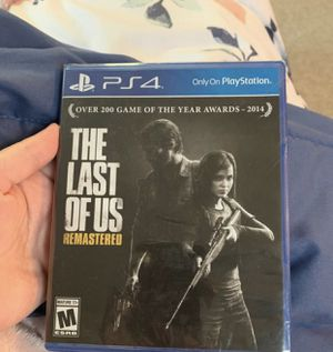 The Last of Us Unopened for Sale in Ocean Shores, WA