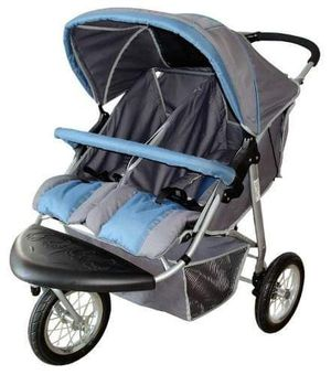 Double hiking stroller for Sale in Phillips Ranch, CA