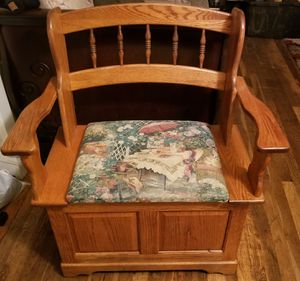 Wooden chair for Sale in Bellevue, WA
