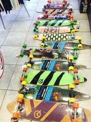 Longboard skateboard drop through drop down pink tail for Sale in Los Angeles, CA