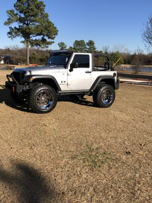 2009 Jeep Wrangler for sale or trade for Sale in Denison, TX