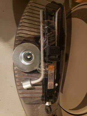 Spare tire brand new never used with Jack and wrench for Sale in St. Cloud, FL