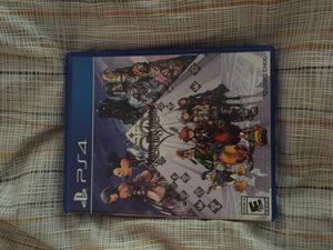 Kingdom Hearts 8 PS4 hard copy. for Sale in Richmond, CA