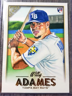 Willy Adames topps gallery rookie card for Sale in Cicero, IL