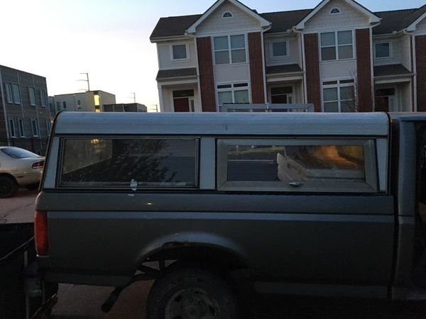 8 Ft Camper Shell For Truck Bed For Sale In Kansas City