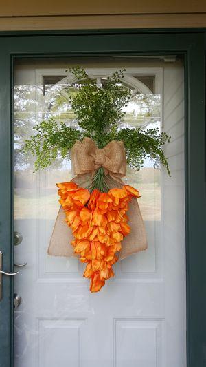 Carrot wreath for Sale in Woodlawn, TN