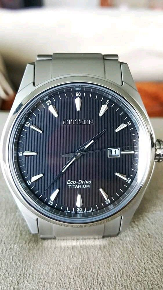 2 watches like a new Citizen Automatic and Citizen Titanium Eco Drive