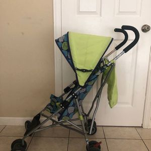 Delta Umbrella Stroller, Yellow Green for Sale in Foster City, CA
