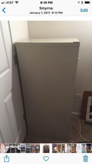 Hon 4 draw steel file cabinet for Sale in Smyrna, GA