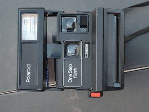 Polaroid camera one step flash with film $15 for Sale in Houston, TX