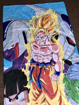 Brand new Manga dragon Ball Z towel beach for Sale in San Francisco, CA