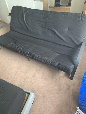 Black Futon for Sale in Warren, MI