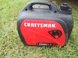 Craftman Generator in great condition. for Sale in Homestead, FL